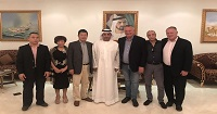 Xingfa Group Vice Board Chairman Was Invited to Visit Dubai Prince