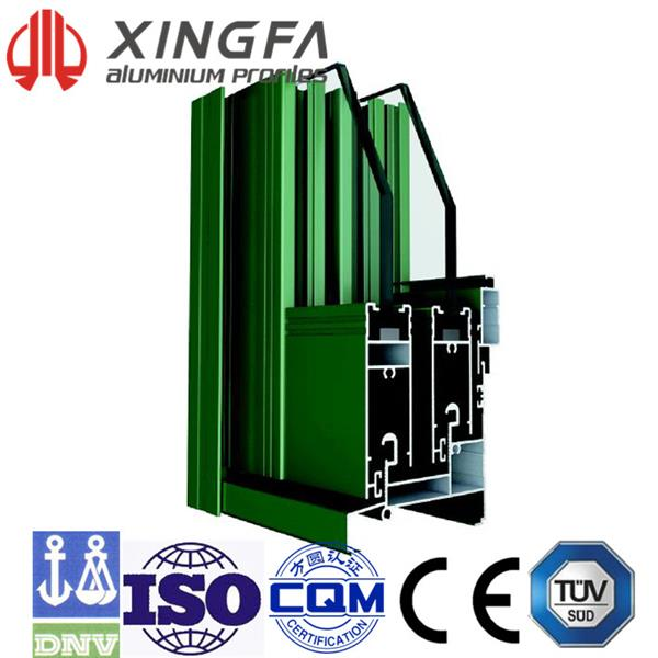 Xingfa Sliding Aluminium Window Series L80A