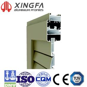 Xingfa Shutter Window Series EUN45-10-01-0-01
