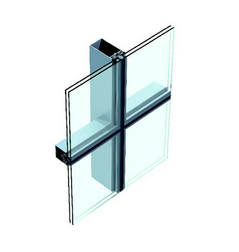 Chuango (US-1) Fully-exposed-frame Series Hollow Glass Curtain Wall