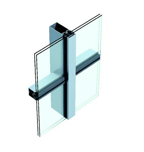 Chuango (US-1)Hollow Glass Vertical Hidden and Horizontal Exposed Frame Series